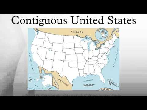 Contiguous United States