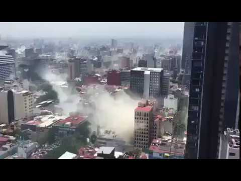 BIG BREAKING: Powerful 7.1 Magnitude Earthquake Rocks central Mexico City