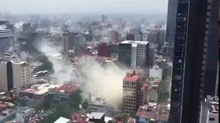 BIG BREAKING: Powerful 7.1 Magnitude Earthquake Rocks central Mexico City
