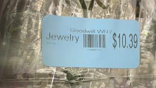 $10.99 Goodwill Jewelry Jar Unjarring