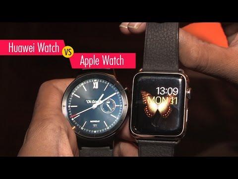 Compare Huawei Watch vs Apple Watch | Digit.in