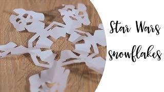 DIY Star Wars snowflakes   Creative ideas   Recipes   Fun