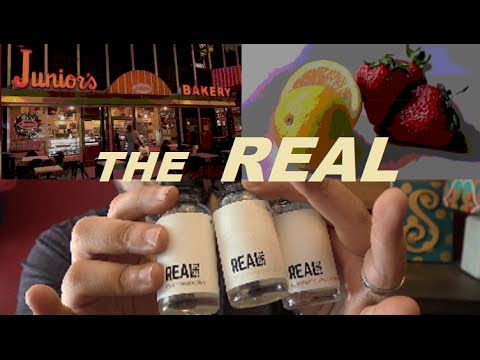The REAL Eliquid Review  | A Full Line of Cheesecake eLiquids