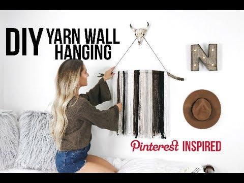 DIY Yarn Wall Hanging | Noel Labb