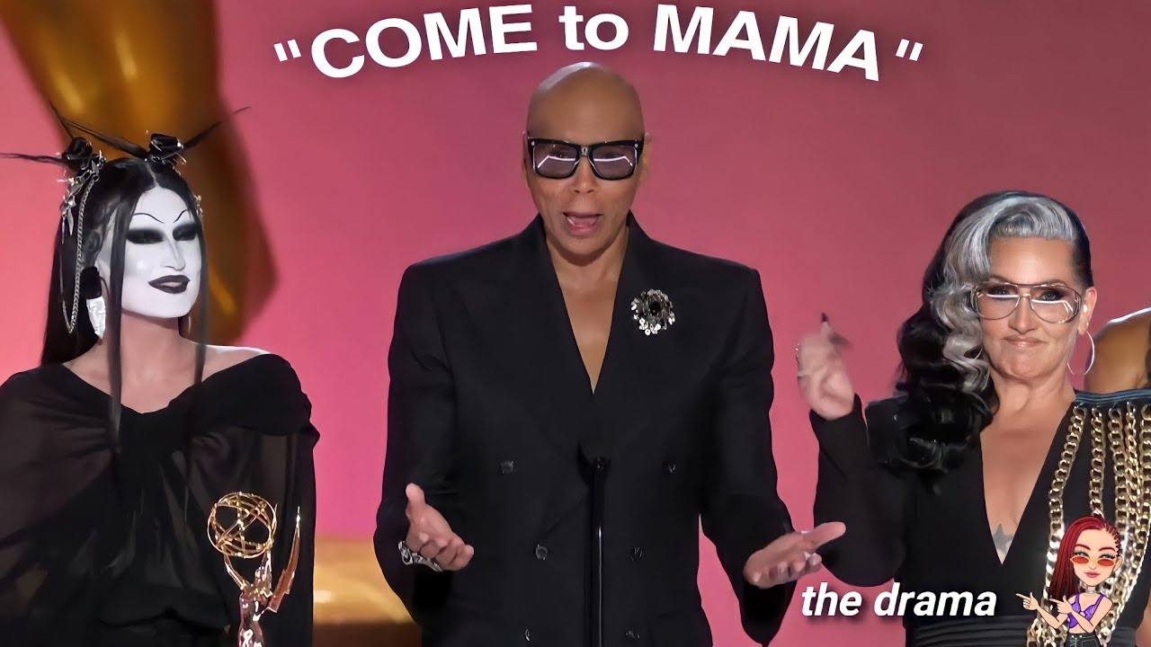 rupaul's drag race at emmy awards BUT...