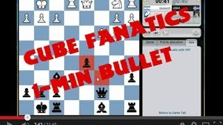 Cube Fanatics ChessCube Bullet Tournament