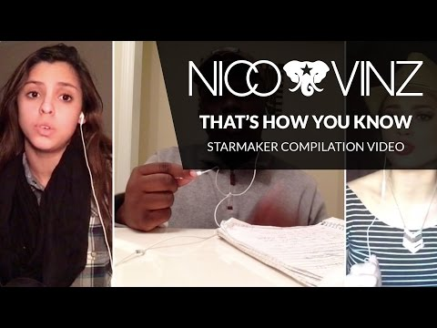 Nico & Vinz - 'That's How You Know' StarMaker Compilation Video