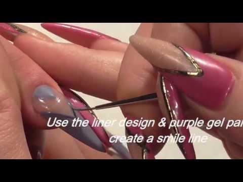 Knitted Salon Nail Art Design by Hazel Dixon