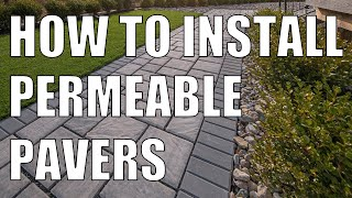 ECO Pavers Permeable Pavers Installation Essentials thumbnail
