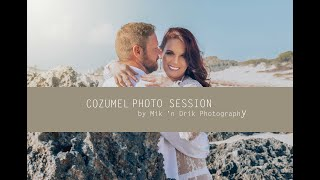 COZUMEL Couple Photo Session in Cozumel, Mexico by Mik 'n Drik Photography