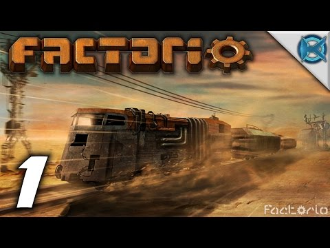 """Factorio 0.11 Gameplay / Let's Play (S-1) -Ep. 1- """"The Factorio is Open"""""""
