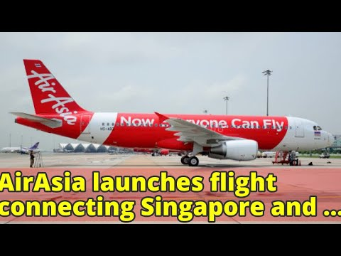 AirAsia launches flight connecting Singapore and Bintulu, Malaysia