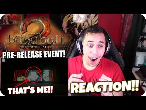 THANK YOU INDIA!| Baahubali 2 - The Conclusion pre-event REACTION!!