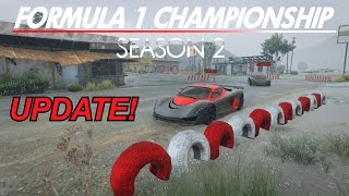 Official F1 Championship Season 2 Update! (GTA 5 Online PS4 Racing)