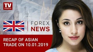InstaForex tv news: 10.01.2019: USD comes under pressure
