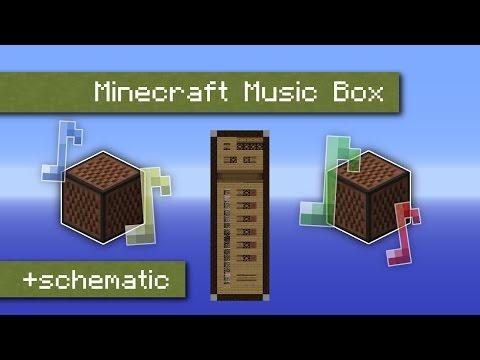 Minecraft Music Box | random music for your map [English]