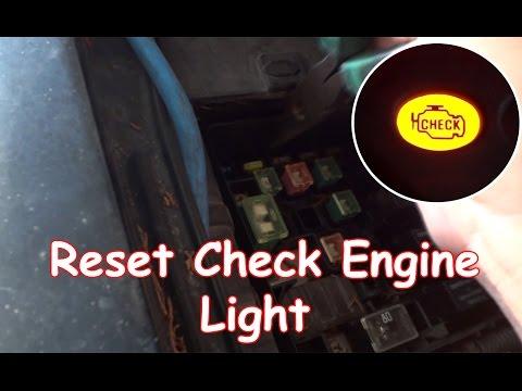 diy reset check engine light without obdii reader how to make do everything. Black Bedroom Furniture Sets. Home Design Ideas