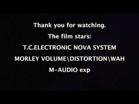 T.C. ELECTRONIC NOVA SYSTEM; M-AUDIO exp; MORLEY distortion/wah/volume. GRETSCH G5122T