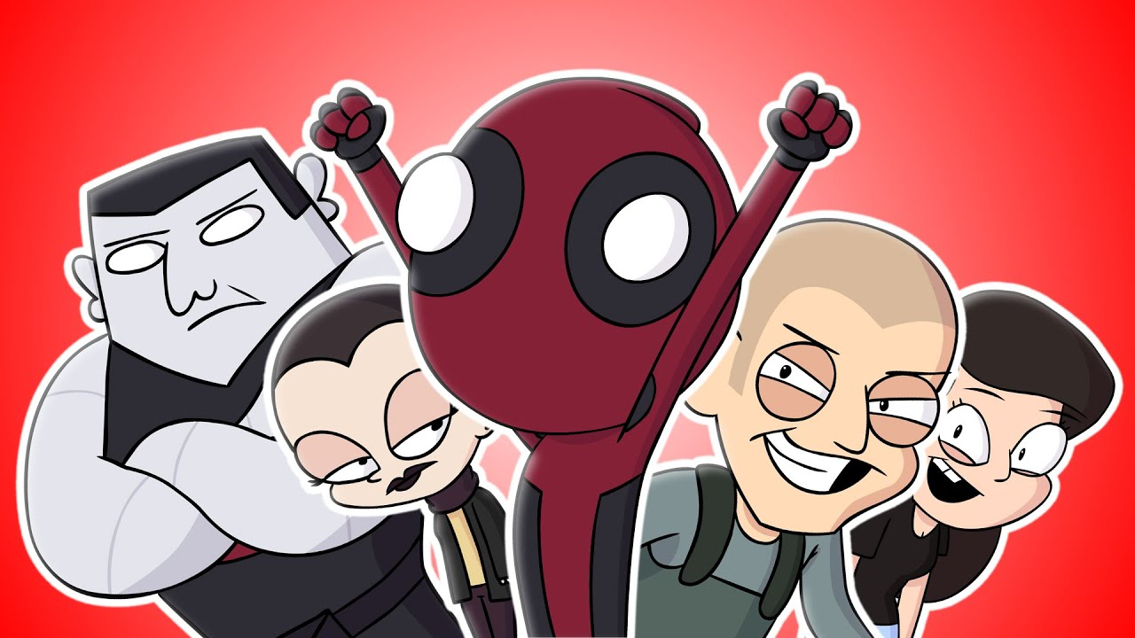 ♪ DEADPOOL THE MUSICAL   Animated Parody Song   YouTube