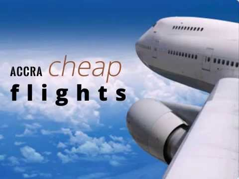 Booking Your Last Minute Flight Deals to Accra A Whole Lot Easier - YouTube