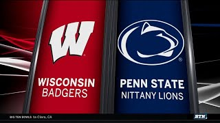 Wisconsin at Penn State - Men's Basketball Highlights