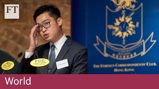 HK independence activist provokes Chinese anger
