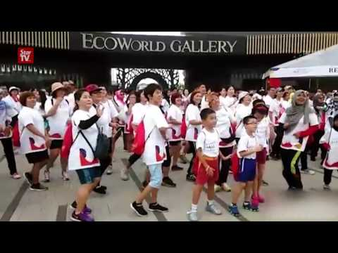 Anak-Anak Malaysia Walk 2016 in Johor