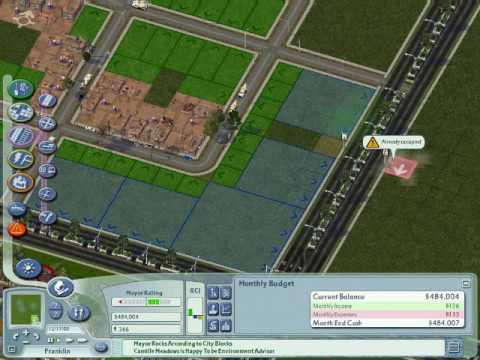 Sim City 4: Building A Region From The Ground Up Part 2