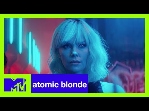 'Atomic Blonde' Star Charlize Theron & Josh Horowitz in Berlin | MTV