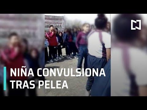 Niña se convulsiona tras ser golpeada durante pelea en Querétaro - Las Noticias