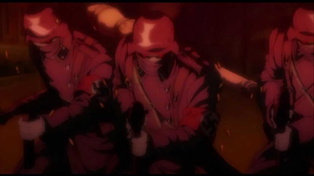 hellsing ultimate episode 5 akuma stocking the fall of
