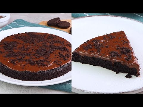 Oreo biscuits cake the american dessert sweet and easy to make