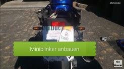 Miniblinker anbauen! / Yamaha Fazer