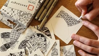 How to Draw the Zentangle® Tangle