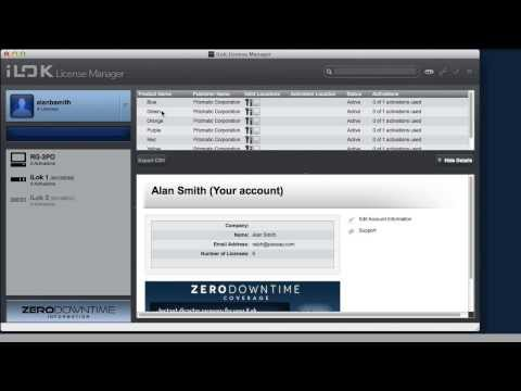 iLok - Setting Up Your Account, The License Manager And