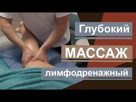 Лимфодренажный массаж. Lymphatic Drainage Massage.