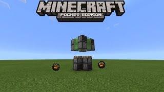 HOW TO MAKE A ROCKET SHIP IN MINECRAFT PE 0.15.0 | MCPE 0.15.0 REDSTONE CREATION (NO MODS)