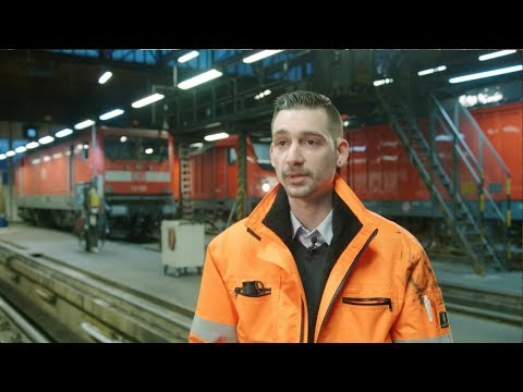 Eisenbahner / Eisenbahnerin im...