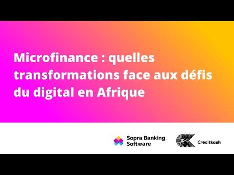 Microfinance : quelles transformations face aux défis du digital en Afrique