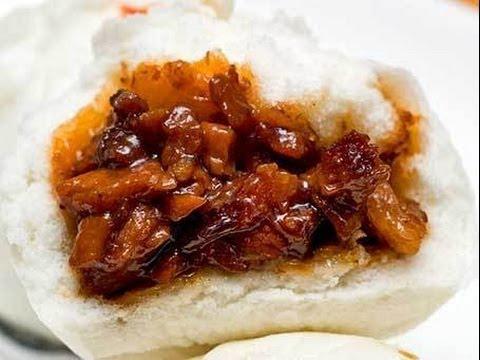 How To Make Char Siu Bao - Steamed Pork Buns - Banh Bao 叉燒包