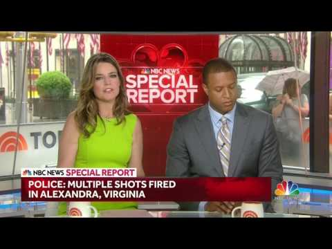 NBC News Special Report on Alexandria VA shooting |BREAKING NEWS|