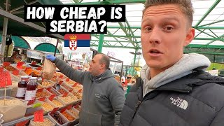 Download SERBIAN'S Are So HONEST! Crazy CHEAP Outdoor MARKET Tour | BELGRADE, Serbia!