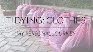 My Experience Tidying with KonMari: Clothes | Marie Kondo & The Life-Changing Magic of Tidying Up