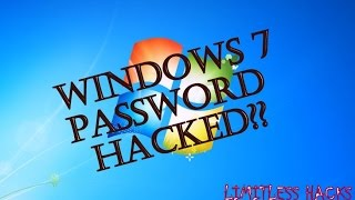 RESET FORGOTTEN WIN 7 PASSWORD WITHOUT ANY SOFTWARE OR WINDOWS CD   USING COMMAND PROMPT  