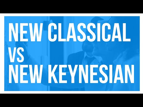 The Contemporary Debate on Business-Cycle Theory: New Classical vs. New Keynesian