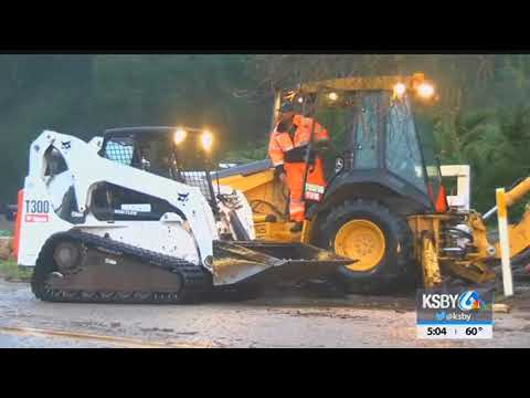 Flooding, road closures, crashes across SLO County during storm