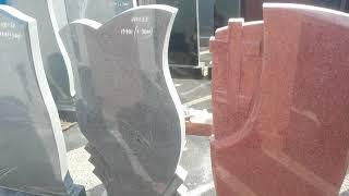 видео Заказать памятник из красного гранита