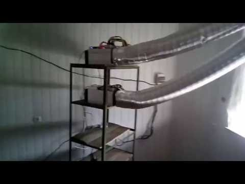 Antminer S9 Small Bitcoin Farm Cooling Setup | FunnyCat TV