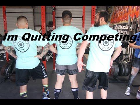 I'm Quitting Competing! Uspa Sacramento open