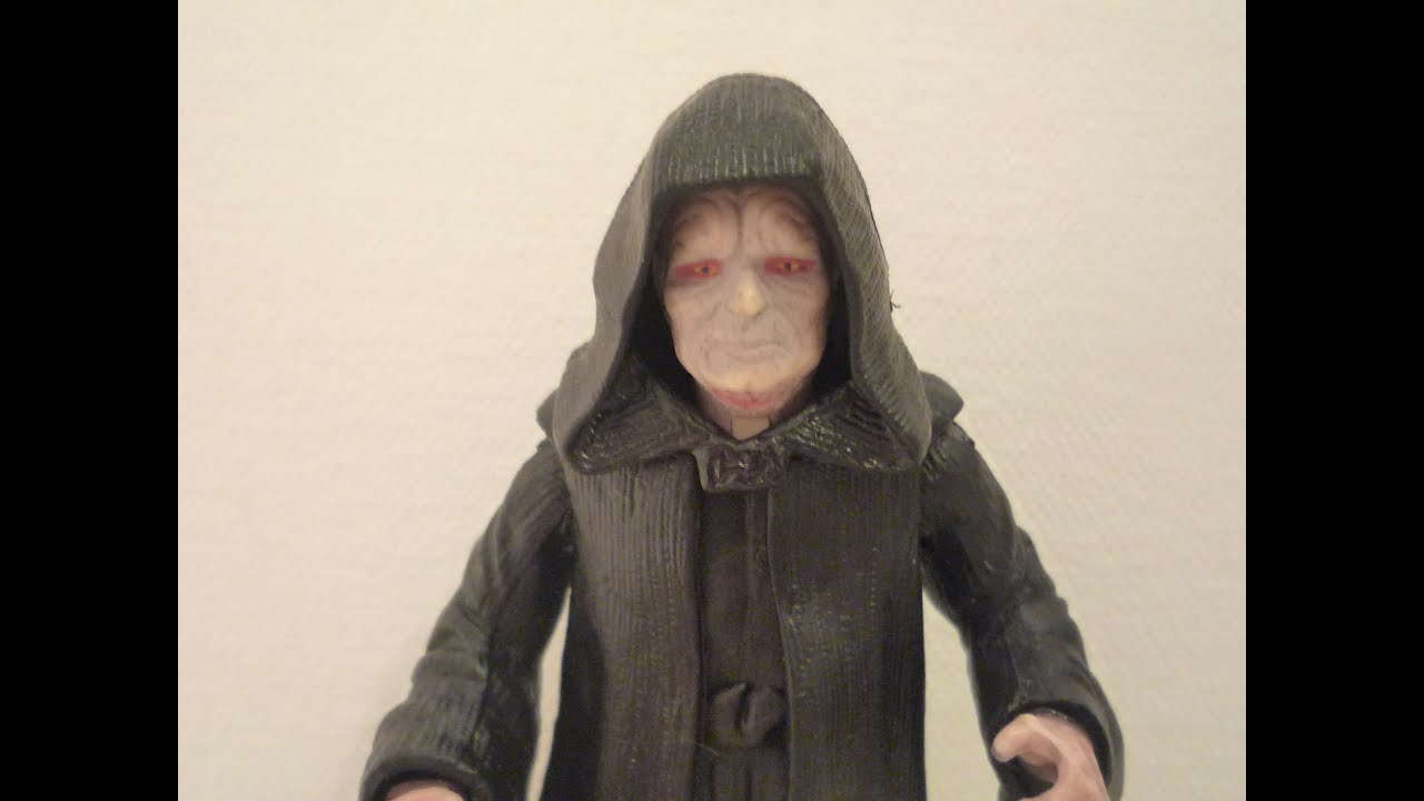 Star Wars Episode 3 Revenge Of The Sith Emperor Palpatine Figure Review Youtube
